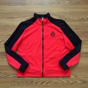 Ralph Lauren • Color Block Zip Up Tracksuit Jacket